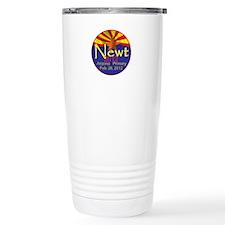 Gingrich Arizona Travel Mug