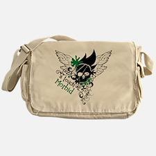 Funny Clifford Messenger Bag