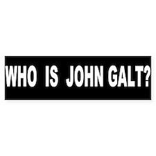 Who is John Galt? Car Sticker