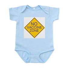 No Vaccine Zone by Tigana Infant Bodysuit