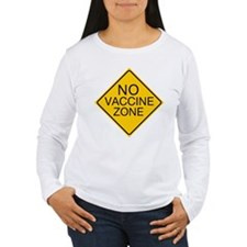No Vaccine Zone by Tigana T-Shirt