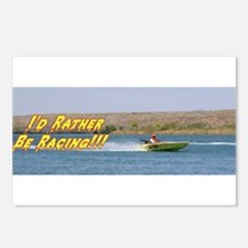 Cracker Box Racing Boat Postcards (Package of 8)