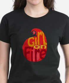 Girl On Fire Flame Tee