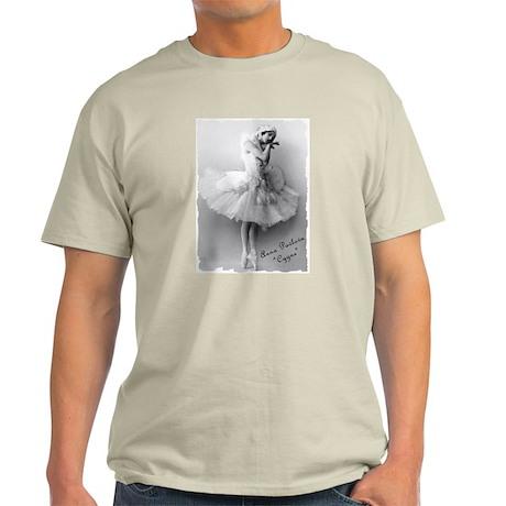 """Anna Pavlova, """"Cygne"""" Ash Grey T-Shirt"""
