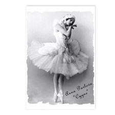 "Anna Pavlova, ""Cygne"" Postcards (Package of 8)"