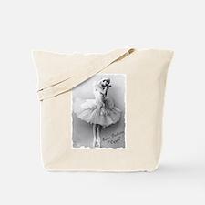 """Anna Pavlova, """"Cygne"""" Tote Bag"""