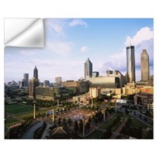 High angle view of a park, Centennial Olympic Park Wall Decal
