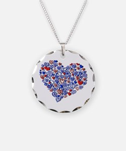 Bunches of Hearts Necklace