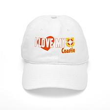 I Love My Coastie Baseball Cap