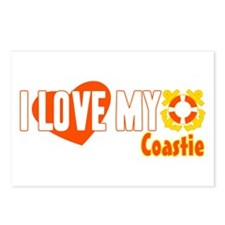 I Love My Coastie Postcards (Package of 8)
