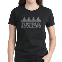 I'd Rather Be Sculling Tee