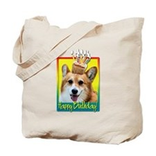 Birthday Cupcake - Corgi Tote Bag