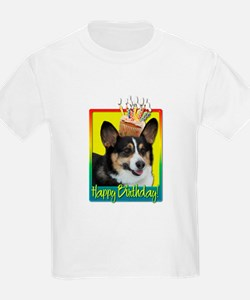 Birthday Cupcake - Corgi T-Shirt