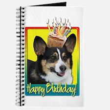Birthday Cupcake - Corgi Journal