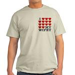 I Love My Wifey Light T-Shirt