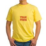 Team Fungi Yellow T-Shirt