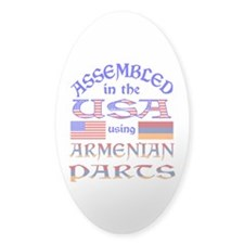 USA / Armenian Parts Decal