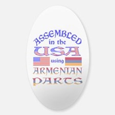 USA / Armenian Parts Decal