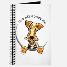 Funny Airedale Welsh Terrier Journal