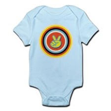 Bullseye Peace Infant Bodysuit