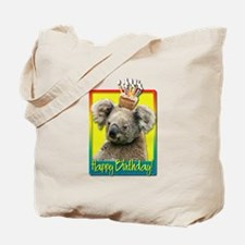 Birthday Cupcake - Koala Tote Bag