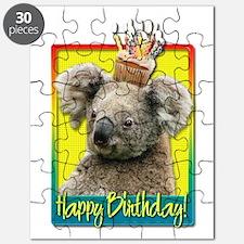 Birthday Cupcake - Koala Puzzle