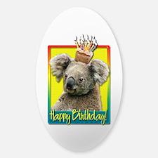 Birthday Cupcake - Koala Decal