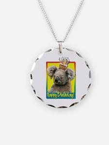 Birthday Cupcake - Koala Necklace