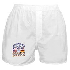 USA / German Parts Boxer Shorts