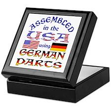USA / German Parts Keepsake Box