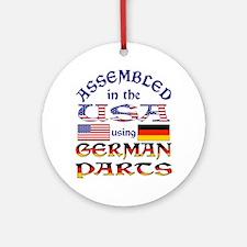 USA / German Parts Ornament (Round)