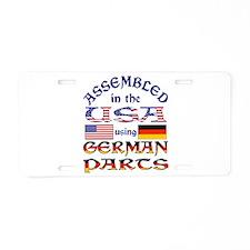 USA / German Parts Aluminum License Plate