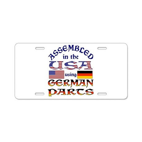 USA / German Parts Aluminum License Plate