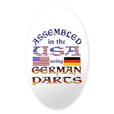 USA / German Parts Decal