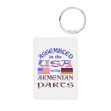 USA / Armenian Parts Keychains