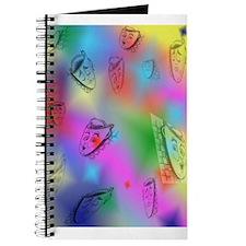Masks on Rainbow Colors Journal