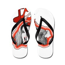 Ellen The Felon Flip Flops