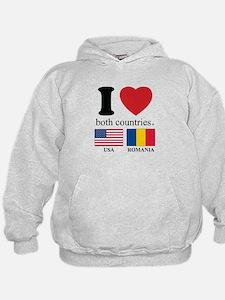 USA-ROMANIA Hoodie