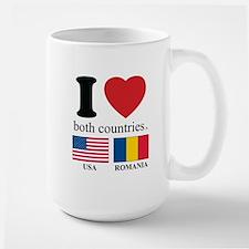 USA-ROMANIA Mug