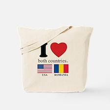USA-ROMANIA Tote Bag