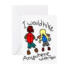 Hike Anywhere Greeting Card