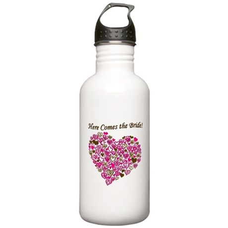 Here Comes The Bride Stainless Water Bottle 1.0L