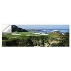 Golf course, Cypress Point Golf Course, Pebble Bea Wall Decal