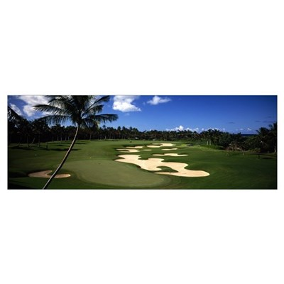 Golf Course HI Poster