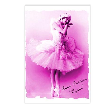 """Anna Pavlova, """"Cygne"""" Postcards (Package of 8)"""