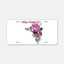 Biker Bride Aluminum License Plate