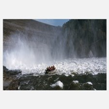 Group of people rafting in a river, Gauley River,