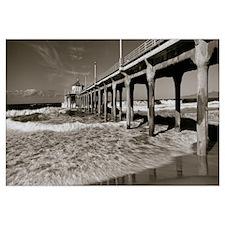 Pier, Manhattan Beach Pier, Manhattan Beach, Los A