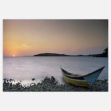 Boat at the lakeside, Lake Victoria, Great Rift Va