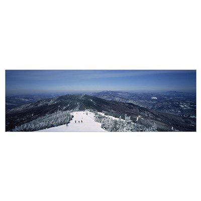 Ski resort, Sugarbush Resort, Warren, Washington C Framed Print